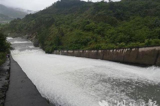 湖北最高时超汛限水库达1087座 累计泄洪腾库13.8亿立方米