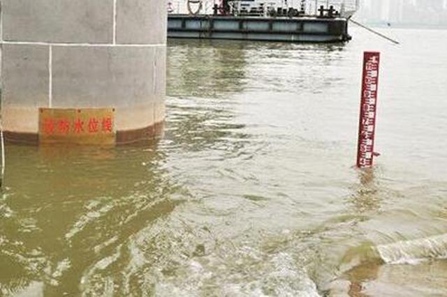 今日7时长江汉口武汉关到达警戒水位27.30米