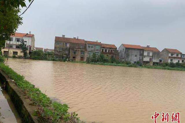 湖北黄梅村民:大水1小时从脚腕涨到大腿