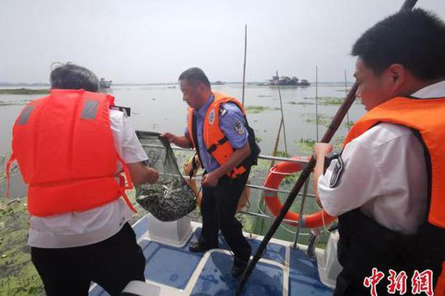 湖北警方严打长江流域非法捕捞违法犯罪
