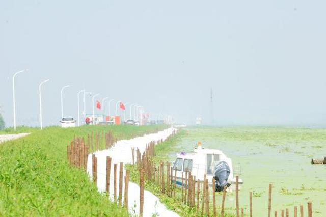 武汉蔡甸区启动防汛I级响应 通顺河达历史最高水位