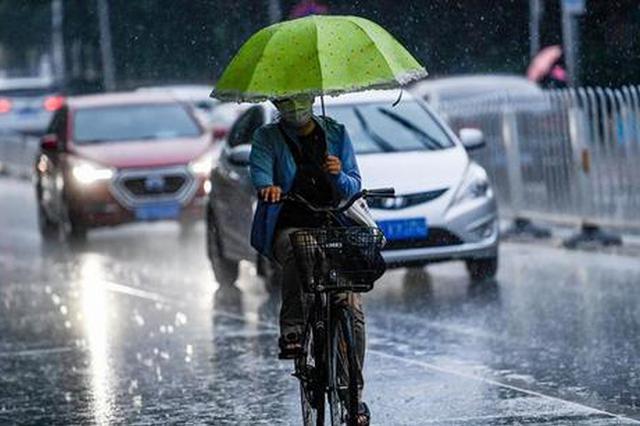 中央气象台发布暴雨黄色预警 湖北等多地局地有大暴雨