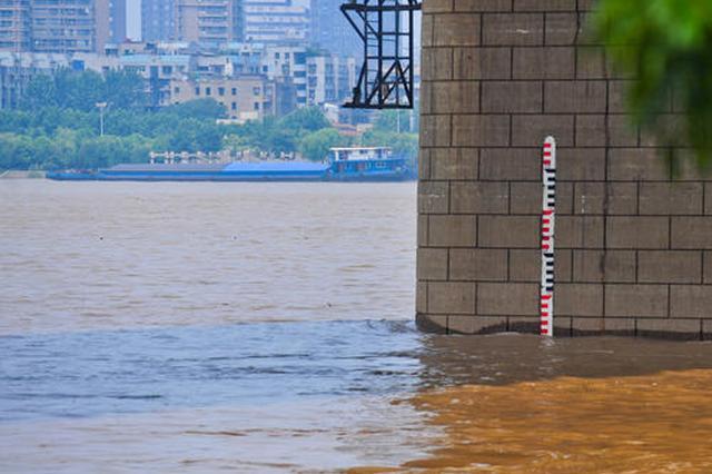 长江中下游三站点超保证水位