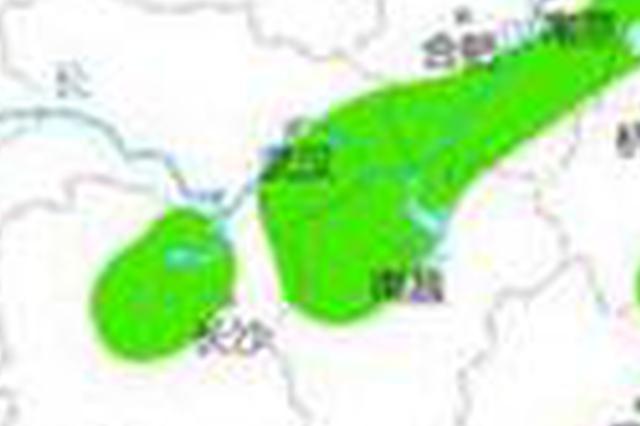 强对流天气蓝色预警:湖北东部等地将有短时强降水