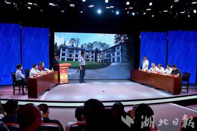 利川市委书记电视问政反串主持:部分人是打太极的老师