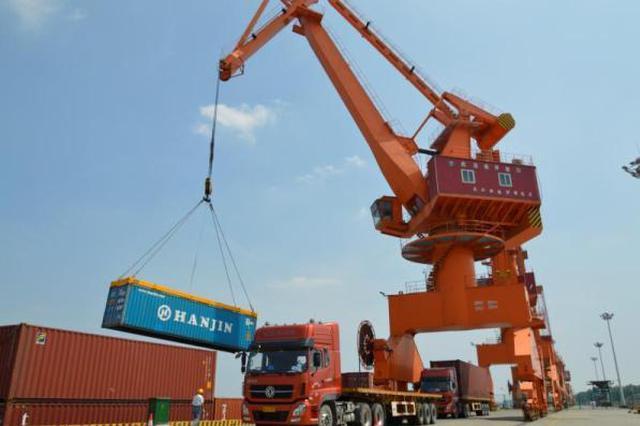 汉南港区将成国家一类水运口岸 年经济效益将超10亿元