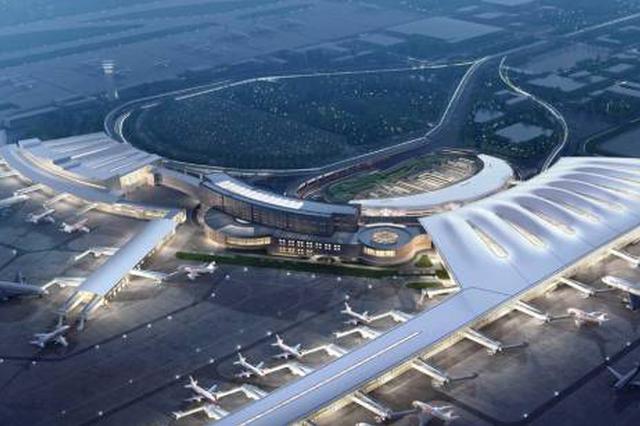 """鄂州机场两大配套项目开建 黄冈搭上临空经济""""快车"""""""