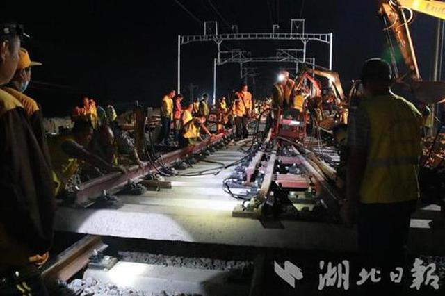 仙桃支线接轨汉宜铁路 湖北第5条城铁冲刺11月底通