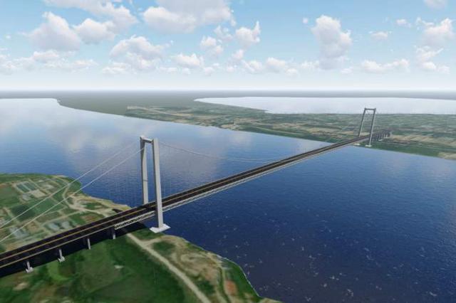 武汉第12座长江大桥年底开建 连通新洲双柳与鄂州华容