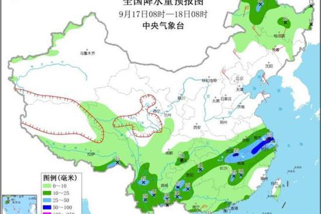 台风红霞增强为强热带风暴级 湖北东部有较强降雨