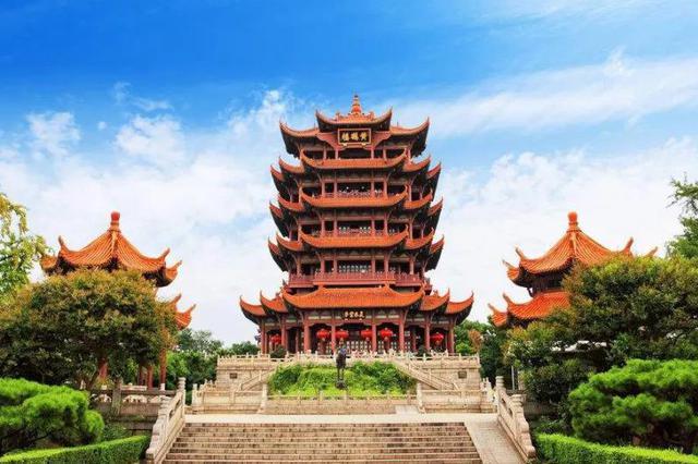 国庆黄金周热力地图发布 黄鹤楼列全国最热景区第一