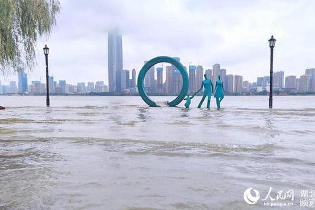 长江湖北武汉关再次进入设防水位