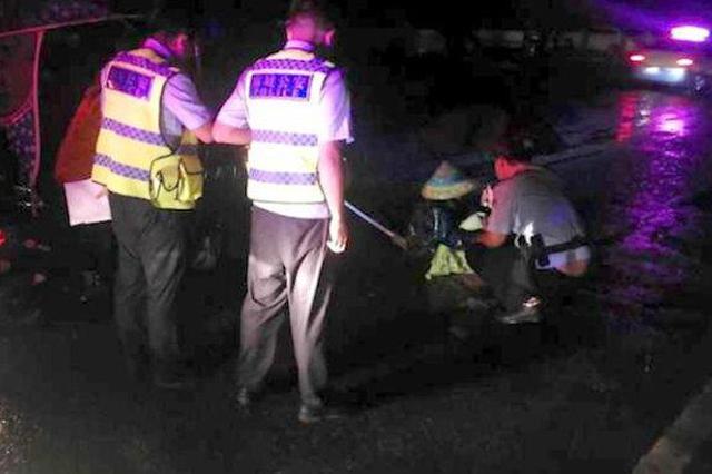 男子将环卫工人撞至重伤后逃逸 民警多日蹲守将其抓获
