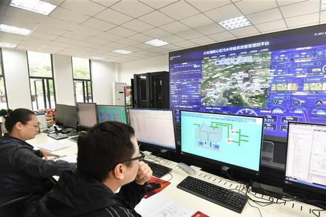 国内首条!武汉大东湖污水深隧已通水运行