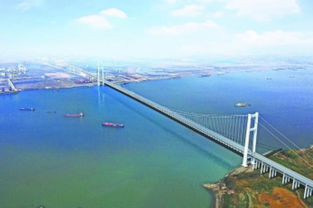 燕矶长江大桥开工建设 将串联鄂州、黄冈沿江发展轴