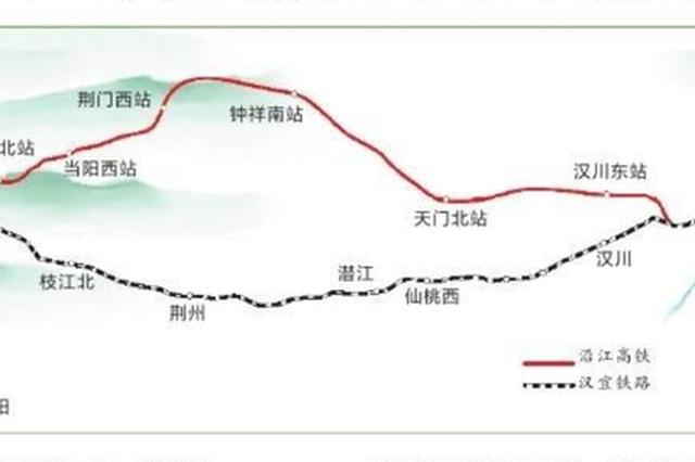 沿江高铁武汉至宜昌段年内动工 设计时速350公里