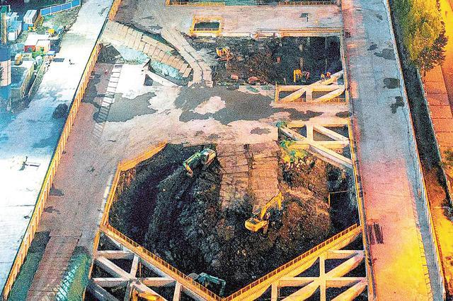 华中在建最大地下净水厂进入主体施工