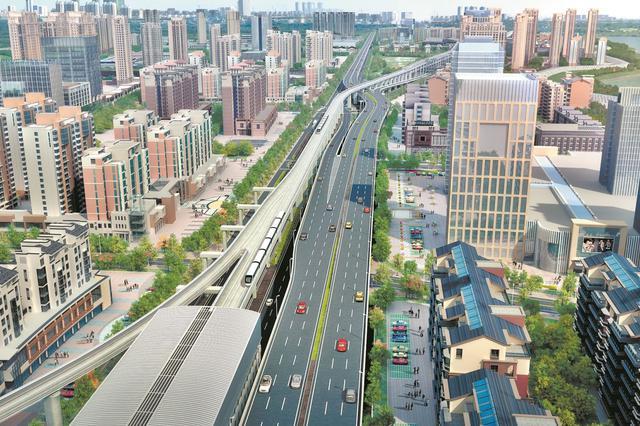 南泥湾大道改造工程启动 汉西将再添一条城市快速通道