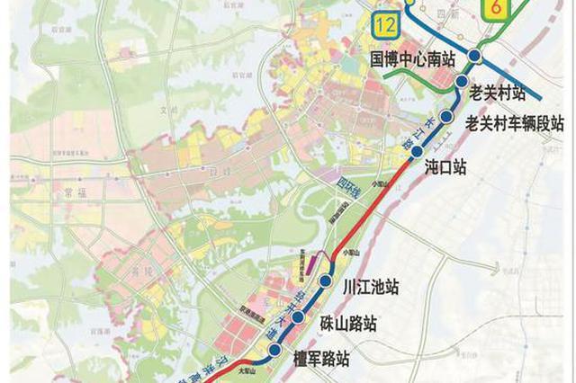 武汉在建最快地铁16号线首个区间双线贯通