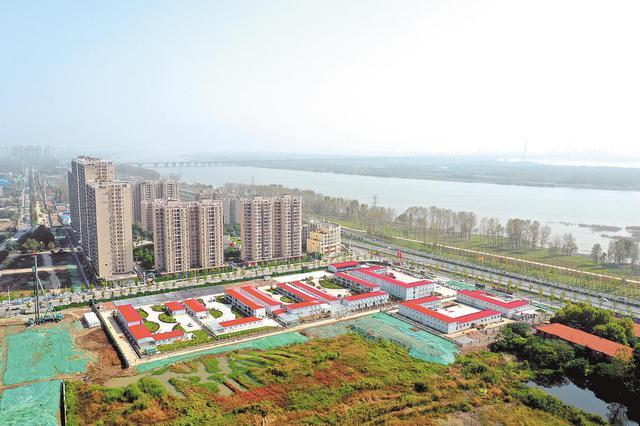 长江新区起步区基础设施开始建设