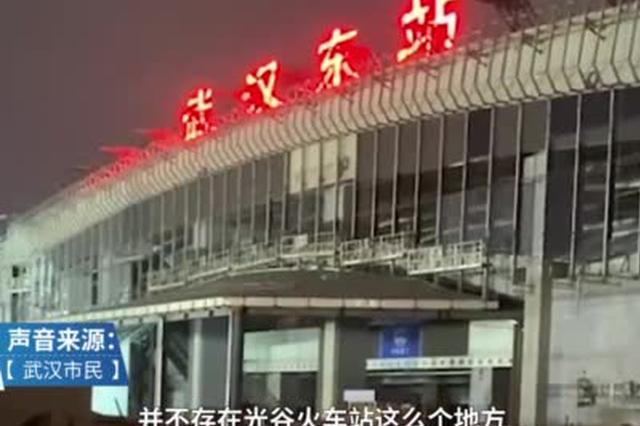 武汉东站正式挂牌 曾遭市民质疑与地铁站名称不统一