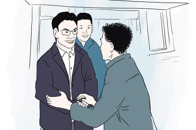 """四川第一批援鄂医疗队队长 罗凤鸣回汉""""探亲"""""""