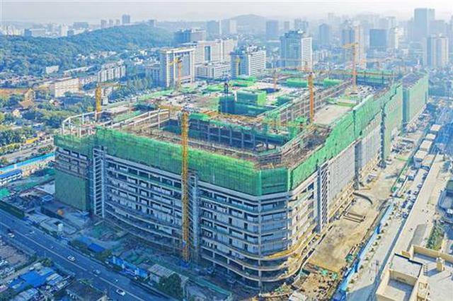 华中单体最大商业综合体主体结构封顶 位于这个商圈