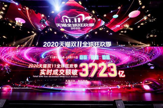 天猫双11凌晨破3723亿!武汉这个区热买第一