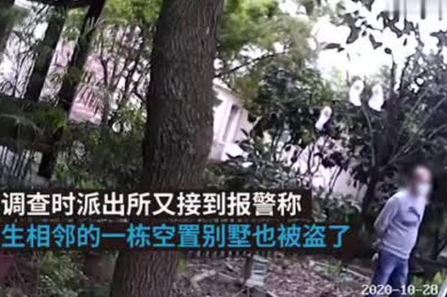 别墅接连被盗监控年久失修 民警通过一把剥线钳破案