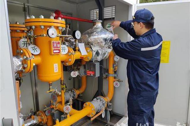 气温骤降 武汉市天然气日用量较降温前陡增八成