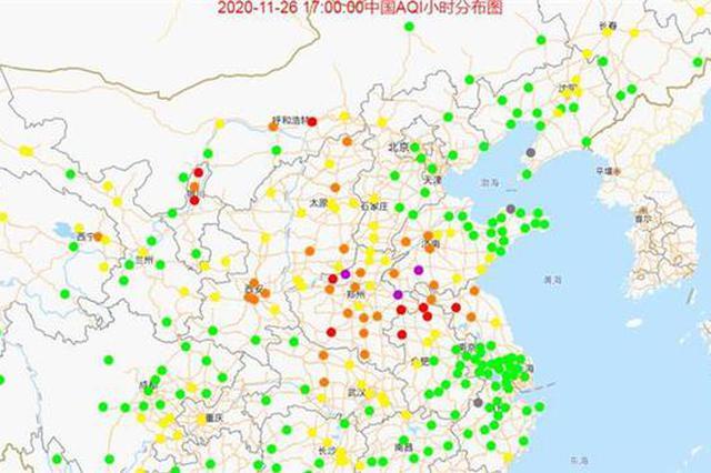 受北方区域影响 武汉11月27日空气质量或将转差