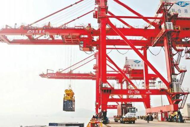 武汉港2020年集装箱吞吐量创新高 同比增长14.4%