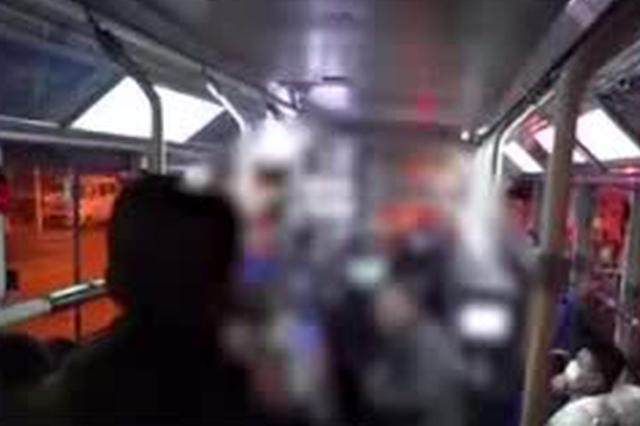 男子不戴口罩乘公交与司机起冲突 警方介入后和解