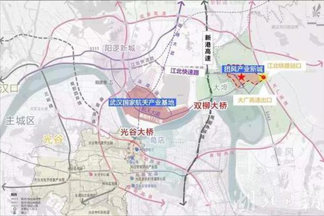 光谷长江大桥有望今年开工建设