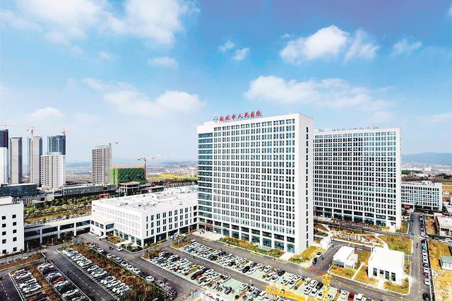 湖北省县市区首批三甲医院投入使用