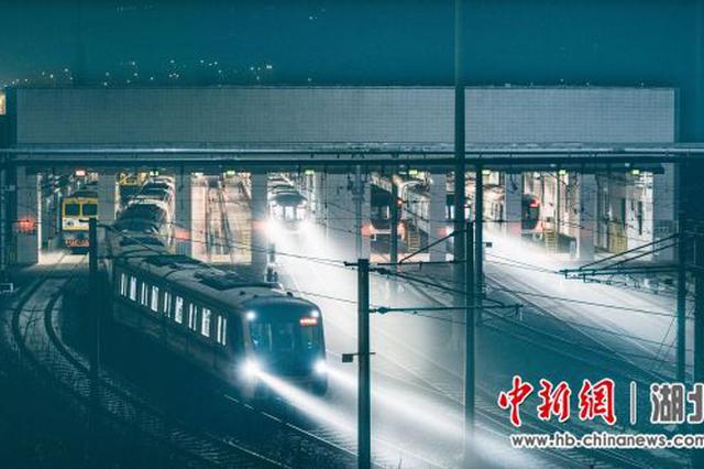 武汉重启一周年:地铁担起城市公共交通大动脉重任