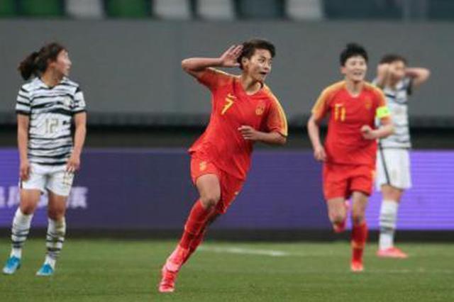 武汉姑娘王霜梅开二度 中国女足晋级东京奥运会