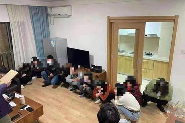 """""""雷火断卡""""首次集中收网 湖北警方抓获嫌疑人424名"""