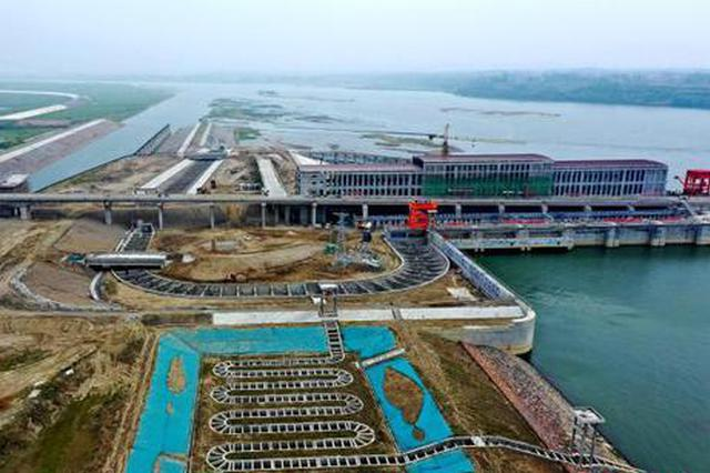 湖北汉江雅口航运枢纽配建仿生态鱼道