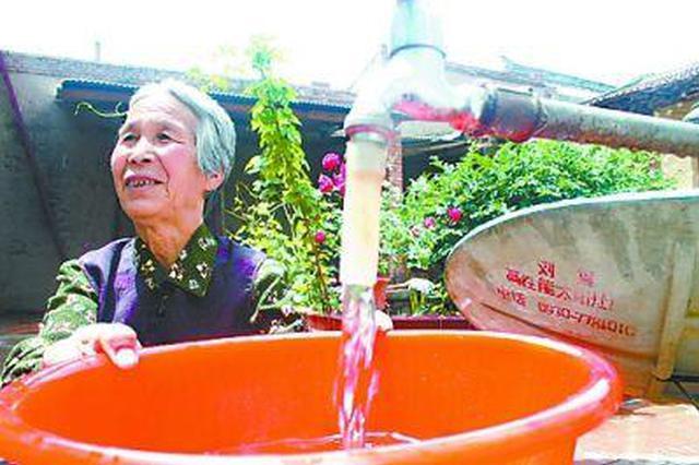 湖北超九成农村人口用上自来水 供水水质明显改善