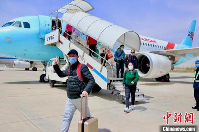 湖北武汉至宁夏中卫旅游包机正式开通