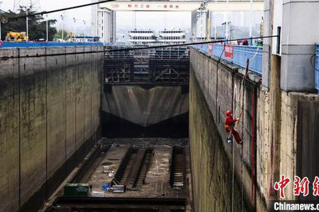 三峡北线船闸恢复通航
