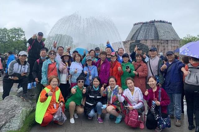 假期前3天黄鹤楼共接待游客14.2万人次 8成来自省外