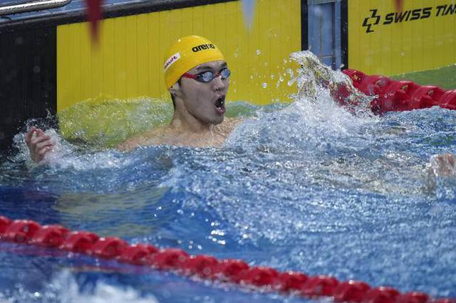全国游泳冠军赛 湖北名将闫子贝夺个人第二冠