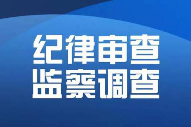 枝江市场监管局局长刘传新接受纪律审查和监察调查