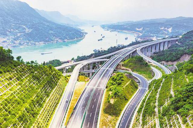 三峡翻坝江北高速公路即将通车