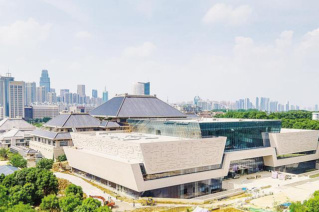 湖北省博物馆新馆即将竣工