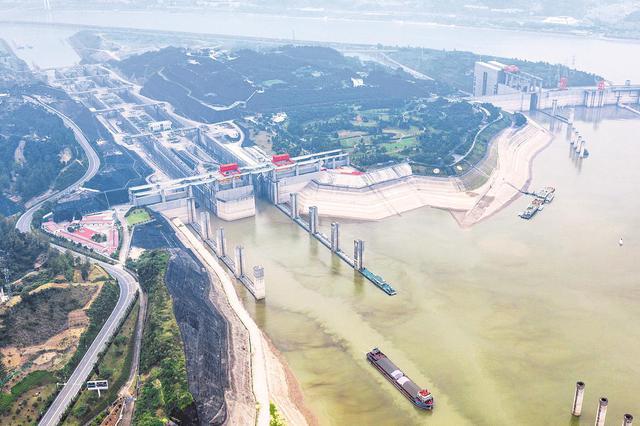 三峡水库水位提前消落至145米 长江流域水库群腾库迎汛
