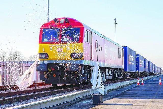 第70列中欧班列端午发出 开行数量创近三年新高