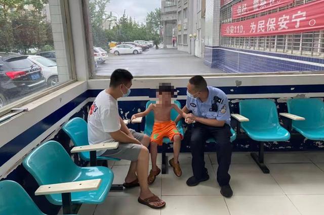 6岁儿童因不想打针从医院出走 天门公安1小时找回